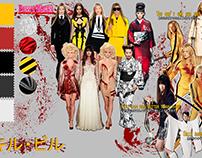 Kill Bill - Concept Board