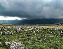 The Voltigno's Plain (Abruzzo).