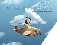 Aigle Azur 70 ans