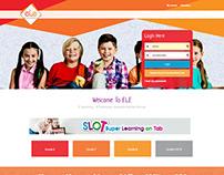 ELE - Online Schooling System ~ Webfolio