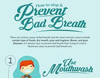 Dental infographic design