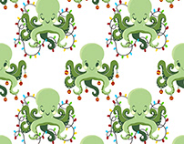 Happy Holiday Octopus
