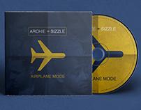 "Archie & Sizzle ""Airplane Mode"" Album Cover Art"