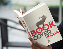 Beautiful Collection of PSD Book Cover Mockups