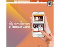 Flokoin promotional facebook banner