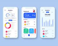 Dashboard on Money Management App
