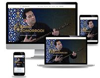 Vahid Zomorrodi Web Design Project