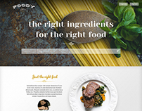 Foody - Online food order templates