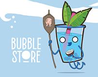 Bubble Store cocktail menu