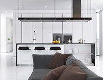 Esentai Apartment by Lenz Architects