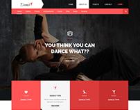 Dance Creative PSD Template