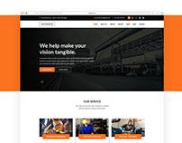 Factory Website Design