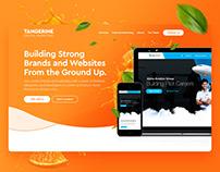 Tangerine Digital Marketing Website Design