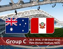 Soi kèo Úc vs Peru