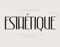 Esthetique - Elegant & Stylish Display Font