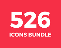 526 Icons Bundle