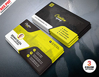Designer Business Card Design PSD Template