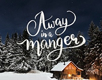 Christmas Lettering Project