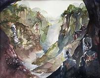 Miao Fantasy-watercolor