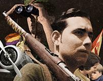 España en Dos Trincheras · Film Poster