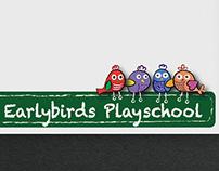 Earlybirds Playschool | Logo Design