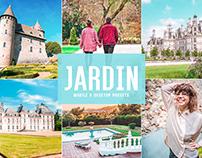 Free Jardin Mobile & Desktop Lightroom Presets
