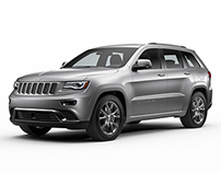 Jeep Grand Cherokee Web Content - CGI & Retouching