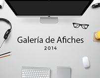 Galería de Afiches 2014