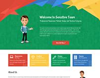 Sensitive Team - Web Design & Development