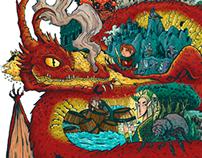 Desolation / The Hobbit fan art