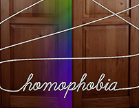 HOMOPHOBIA / Global issues poster