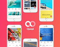 Quopi - adding text to picture made simple