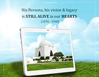 Quaid Azam Muhammad Ali Jinnah Death Day 11 September