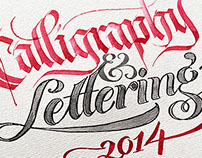 2014 Calligraphy & Lettering Collection