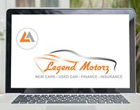 Legend Motors Logo Design