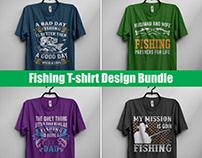 Fishing T-Shirt DesignBundle