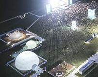 Aerial for Music Festival