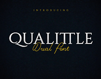 Qualittle Dual Free Font