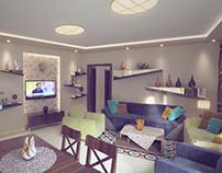 Simple Reception Area
