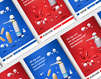 Dr Falk Pharma - Brochure Illustrations