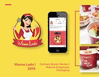 Mama Lado - Mascot, Logotype, & Packaging