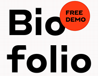 Biofolio Ultimate Typeface
