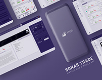 Sonar Trade - Fintech Web & Mobile App