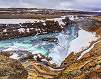 Gullfoss - Iceland some time ago ...