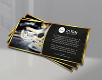 Restaurant - Opening invitation card