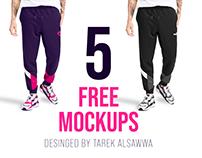 5 FREE MOCKUPS
