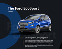 Ford Ecosport Template.