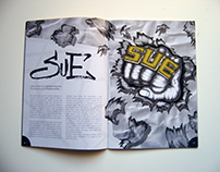 StreetBook Magazine Illustrations