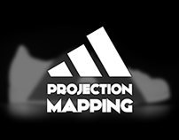 """ADIDAS SHOE"" // Projection Mapping"