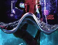 "Vice Versa Lady Gaga ""Rain on Me"" Poster Concept"